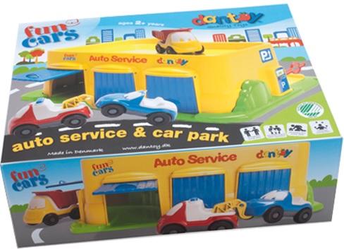 Playmobil bilverkstad